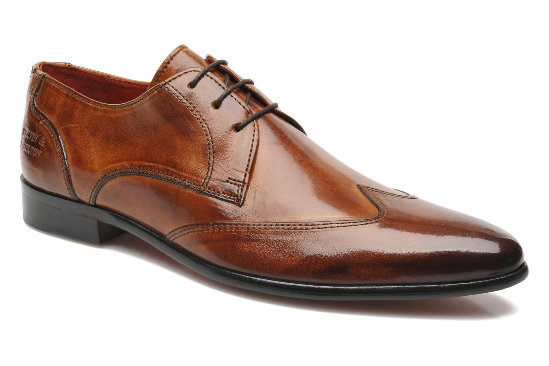 Zapatos con cordones Melvin & Hamilton Toni 2 Marrón vista de detalle / par