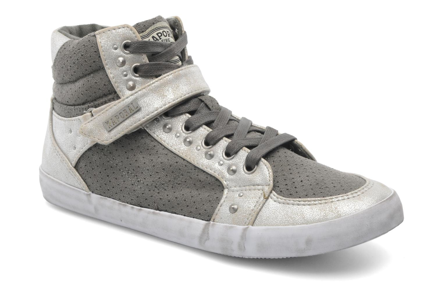 Trainers Kaporal Snatchy Grey detailed view/ Pair view