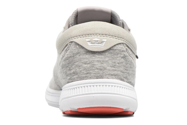 Sneakers Supra Hammer run W Grå Se fra højre