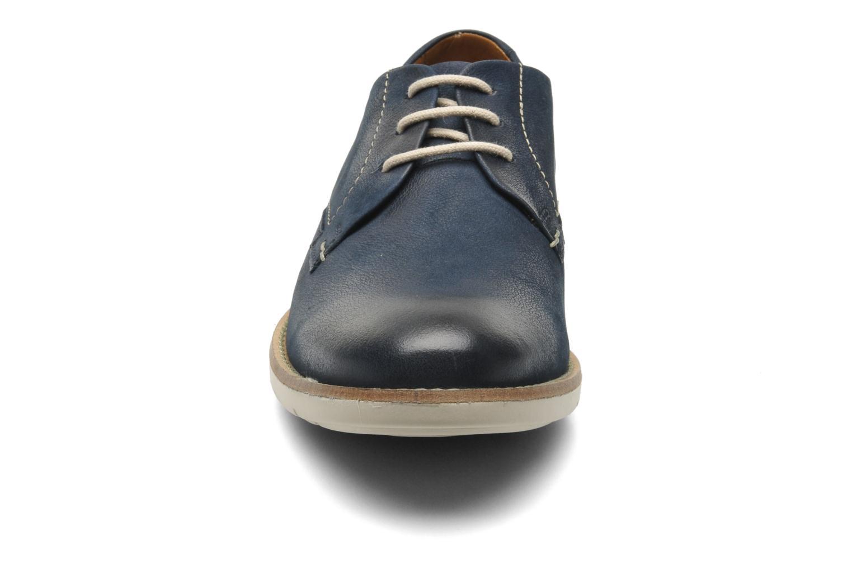 Chaussures à lacets Clarks Raspin Plan Bleu vue portées chaussures