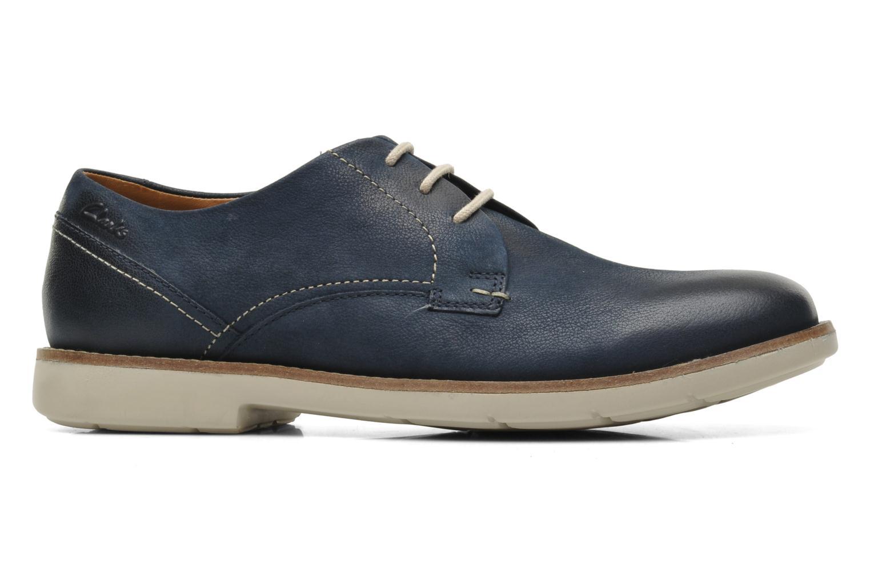 Chaussures à lacets Clarks Raspin Plan Bleu vue derrière