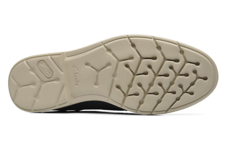 Chaussures à lacets Clarks Raspin Plan Bleu vue haut