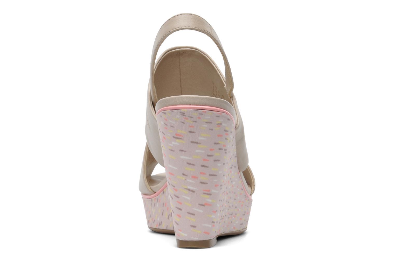 Sandales et nu-pieds Clarks Scent Whisp Gris vue droite