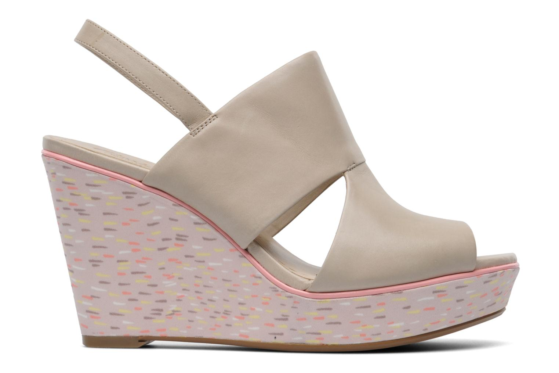 Sandales et nu-pieds Clarks Scent Whisp Gris vue derrière