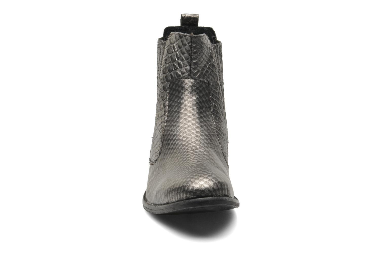 Bottines et boots Elle Etoile Argent vue portées chaussures