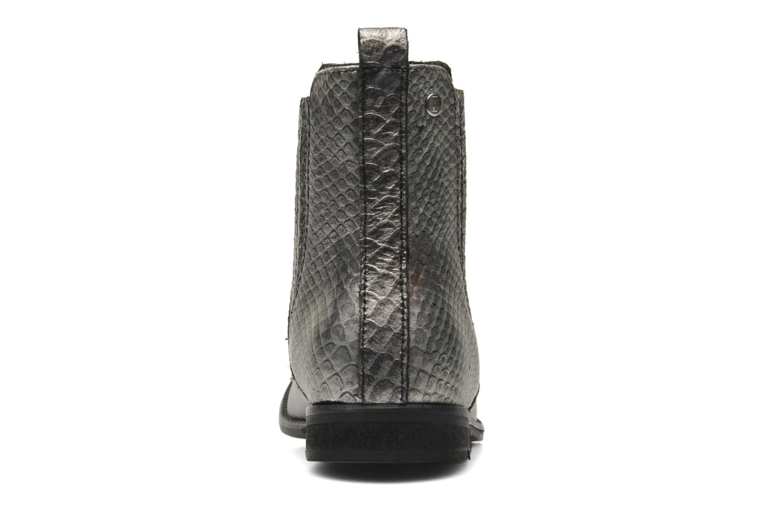 Ankle boots Elle Etoile Silver view from the right
