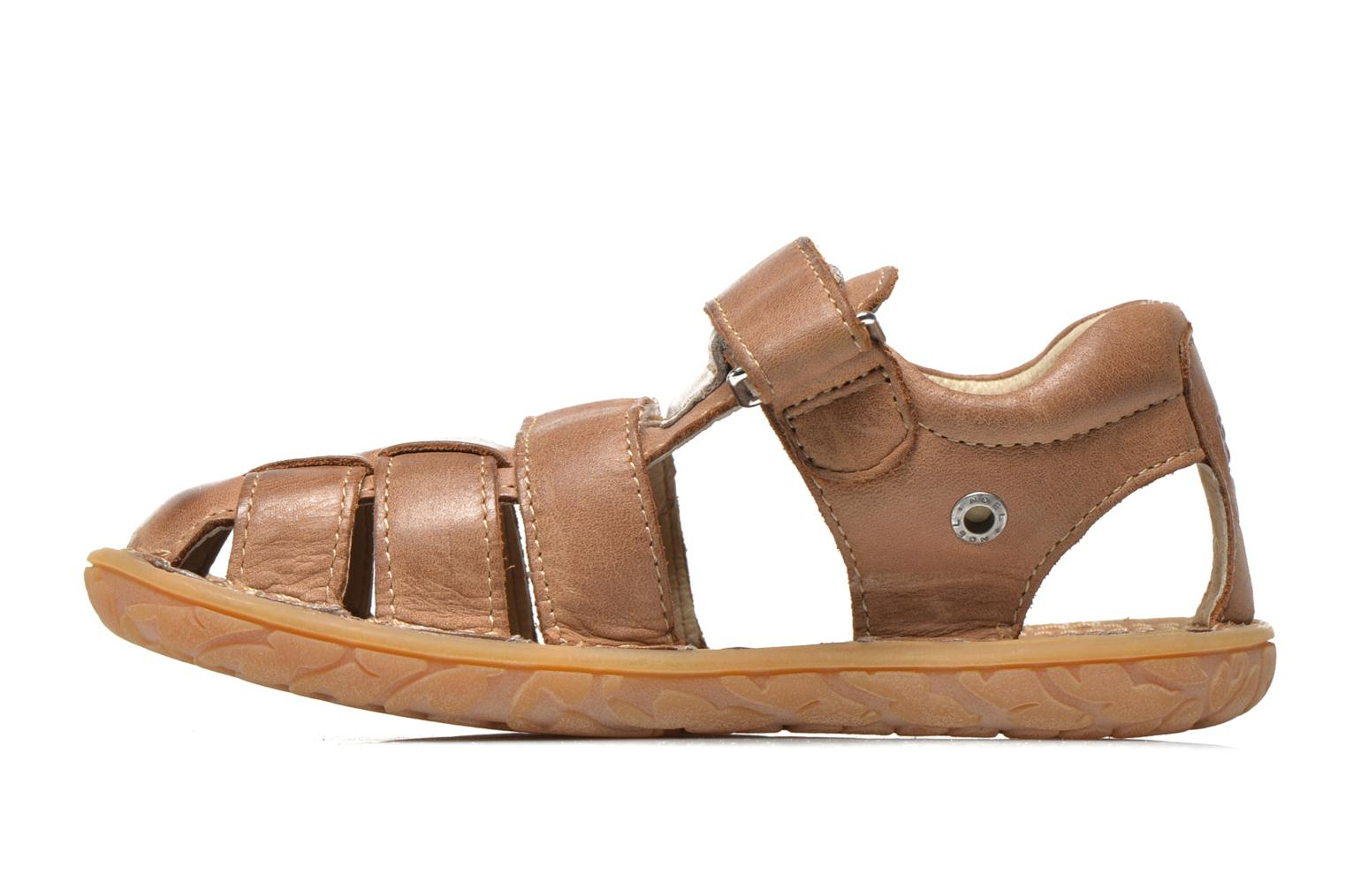 Sandals Noël BOON Brown front view