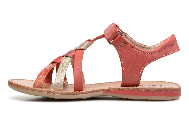 Sandalen Noël Strass Roze voorkant