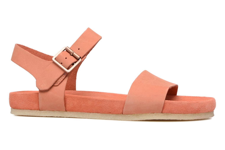 Sandales et nu-pieds Clarks Originals Dusty Soul Orange vue derrière