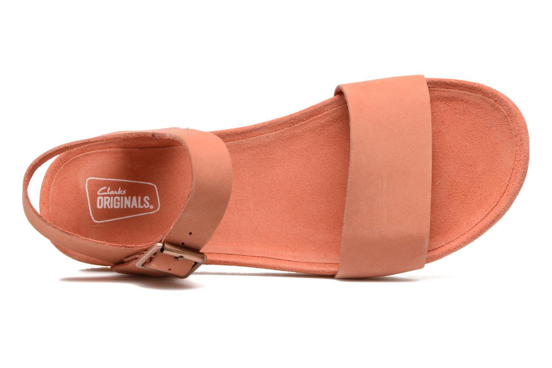 Sandales et nu-pieds Clarks Originals Dusty Soul Orange vue gauche