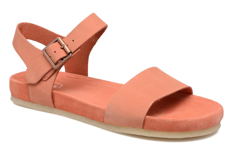 Sandales et nu-pieds Clarks Originals Dusty Soul Orange vue détail/paire