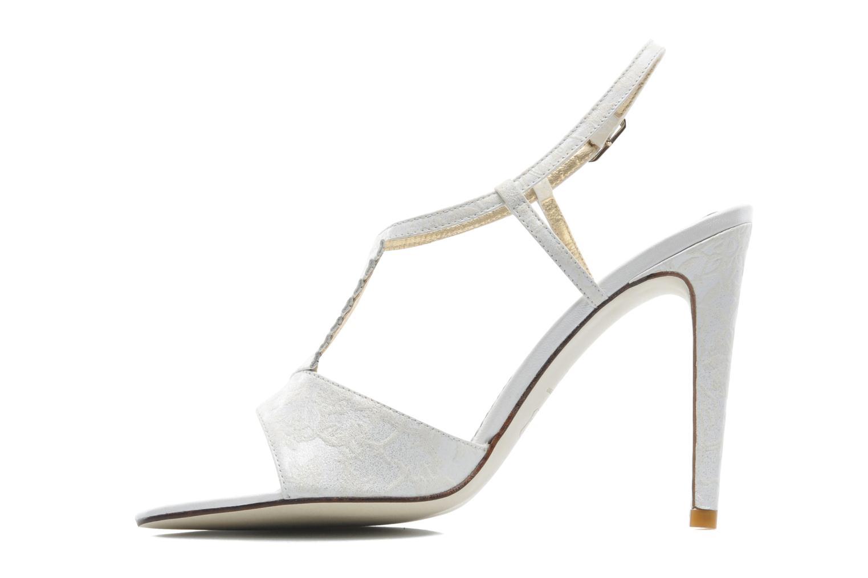 Sandales et nu-pieds Georgia Rose Rumimy Blanc vue face