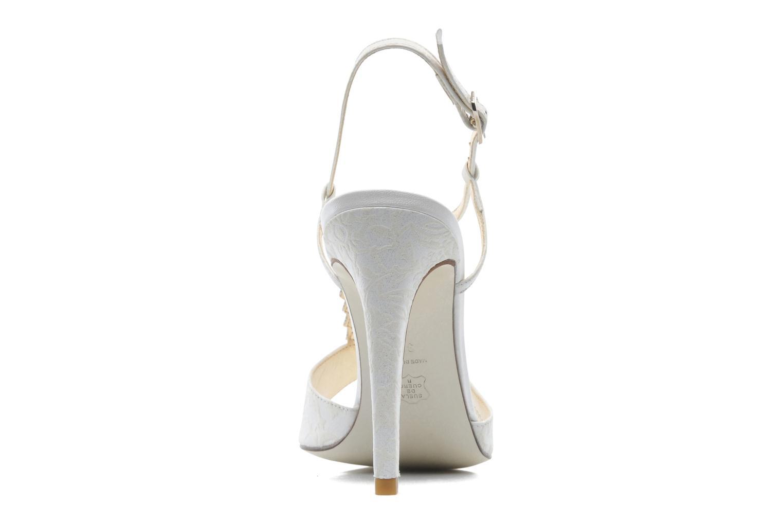 Sandales et nu-pieds Georgia Rose Rumimy Blanc vue droite