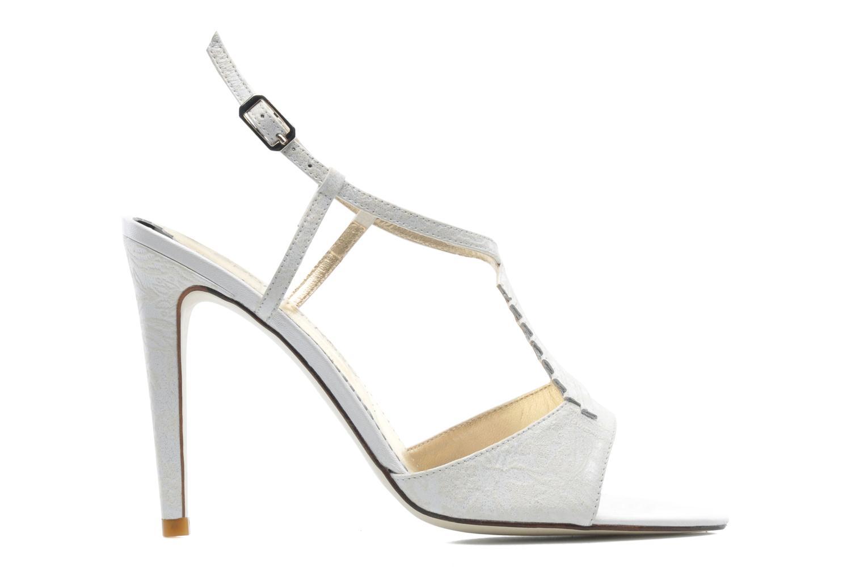 Sandales et nu-pieds Georgia Rose Rumimy Blanc vue derrière