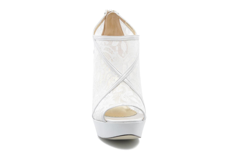 Bottines et boots Georgia Rose Ruamote Blanc vue portées chaussures