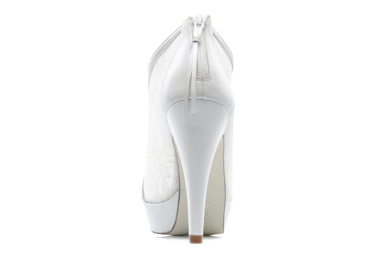 Bottines et boots Georgia Rose Ruamote Blanc vue droite