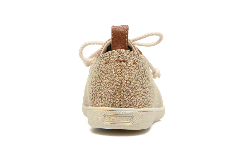 Baskets Armistice Stone One gloss W Or et bronze vue droite