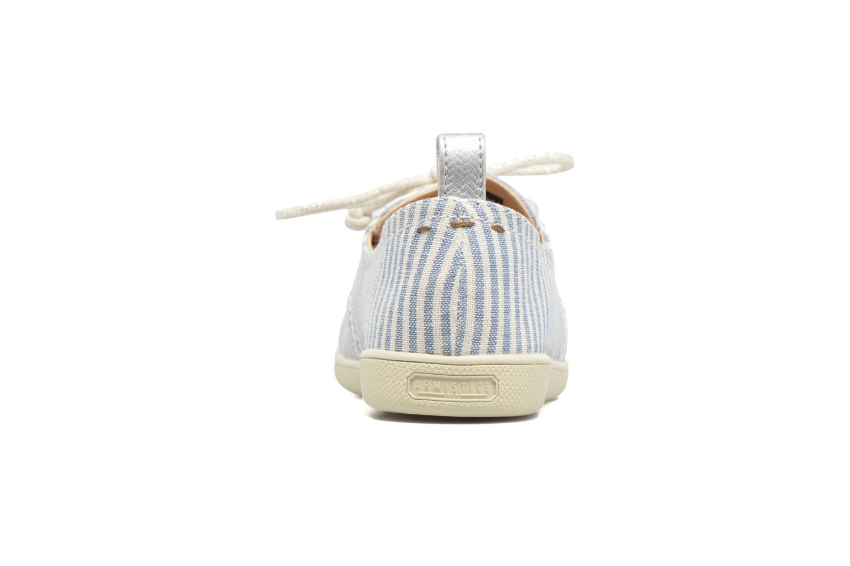 Baskets Armistice Stone One stripe W Bleu vue droite