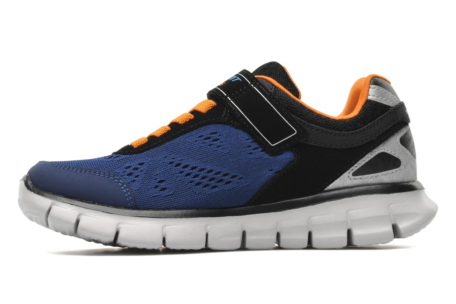 Trainers Skechers Synergy Power Rush Blue front view