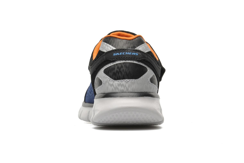 Sneaker Skechers Synergy Power Rush blau ansicht von rechts