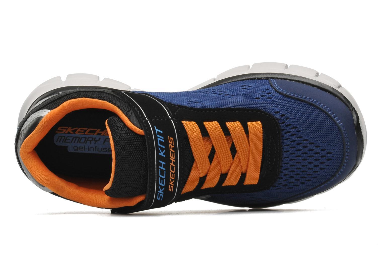 Sneaker Skechers Synergy Power Rush blau ansicht von links