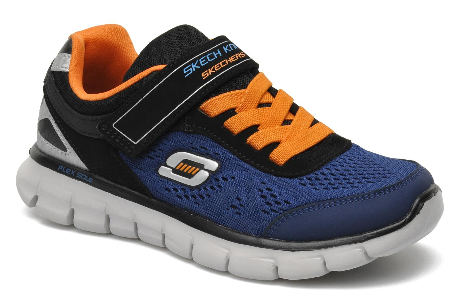 Trainers Skechers Synergy Power Rush Blue detailed view/ Pair view