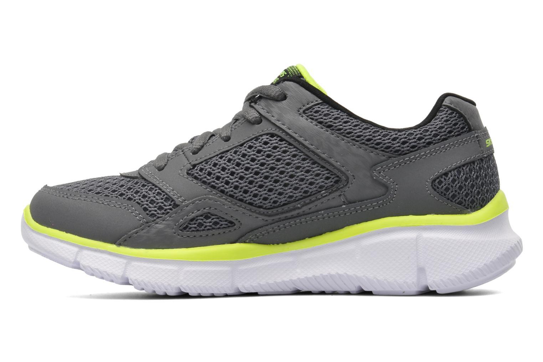 Sneaker Skechers Equalizer grau ansicht von vorne