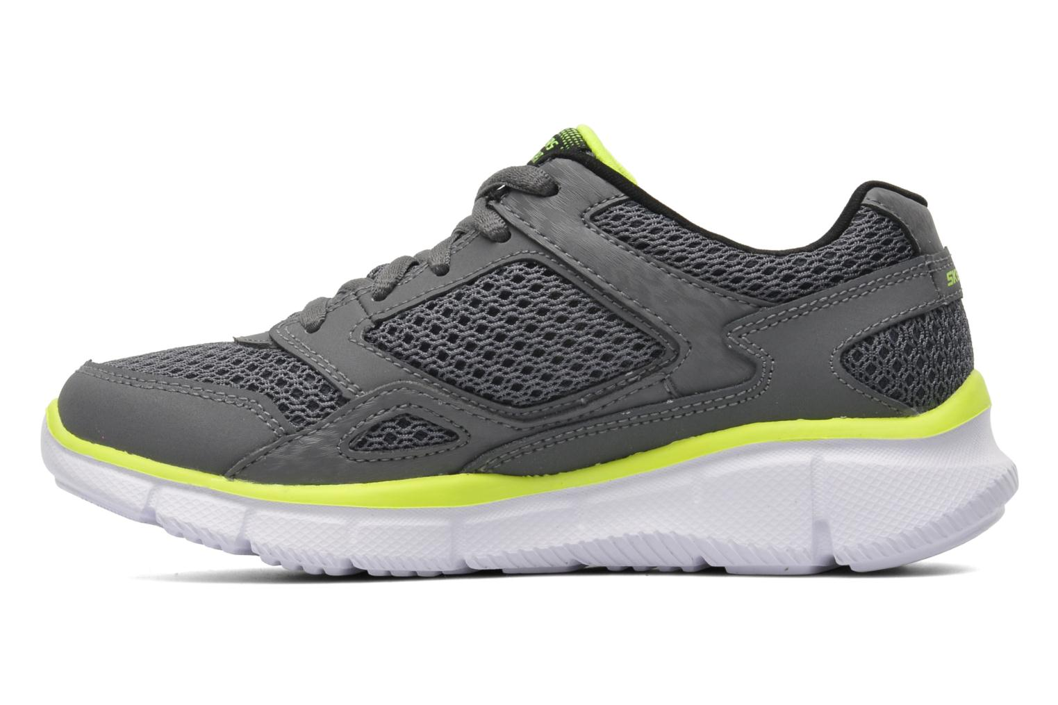 Baskets Skechers Equalizer Gris vue face