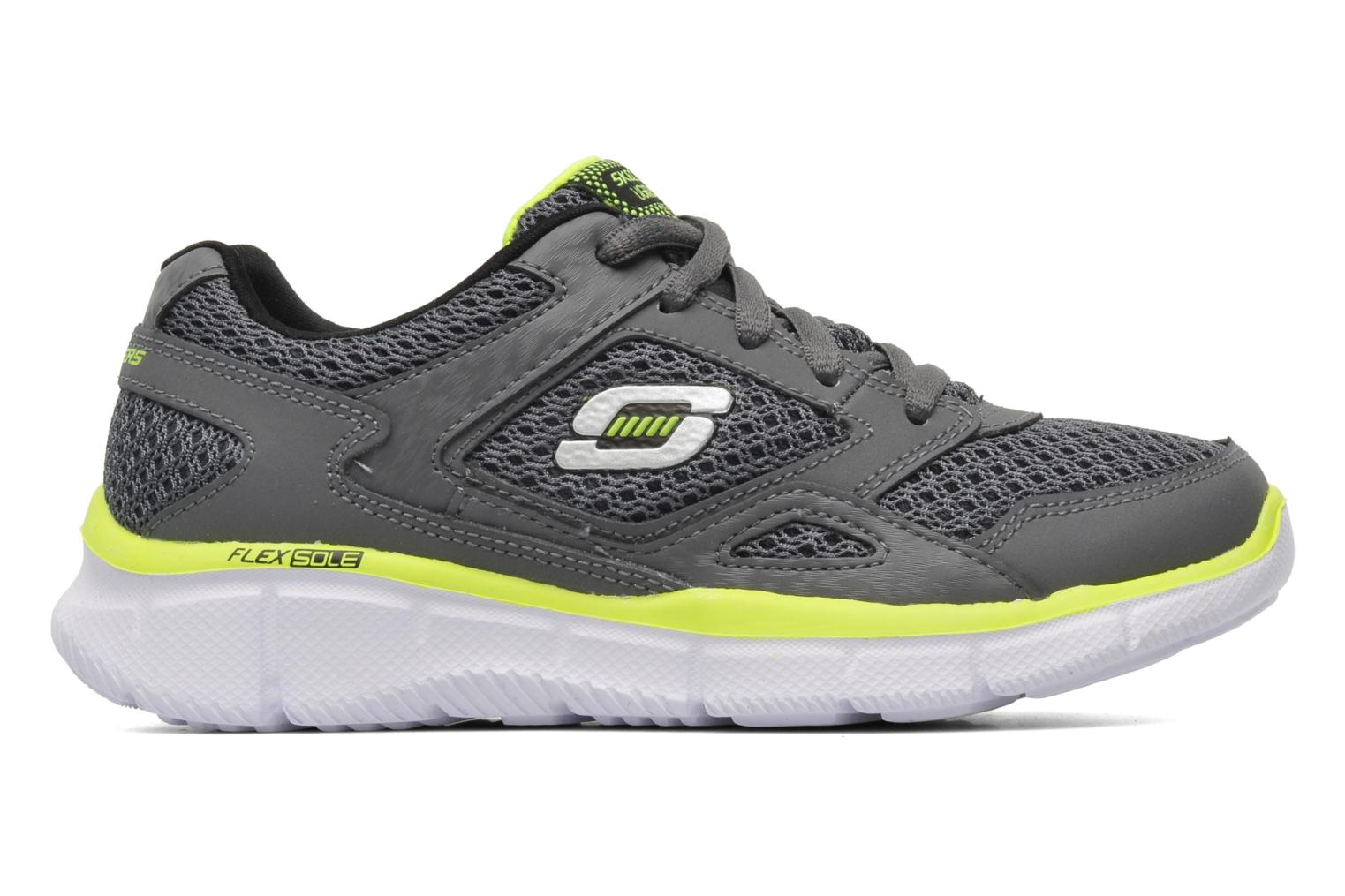 Trainers Skechers Equalizer Grey back view