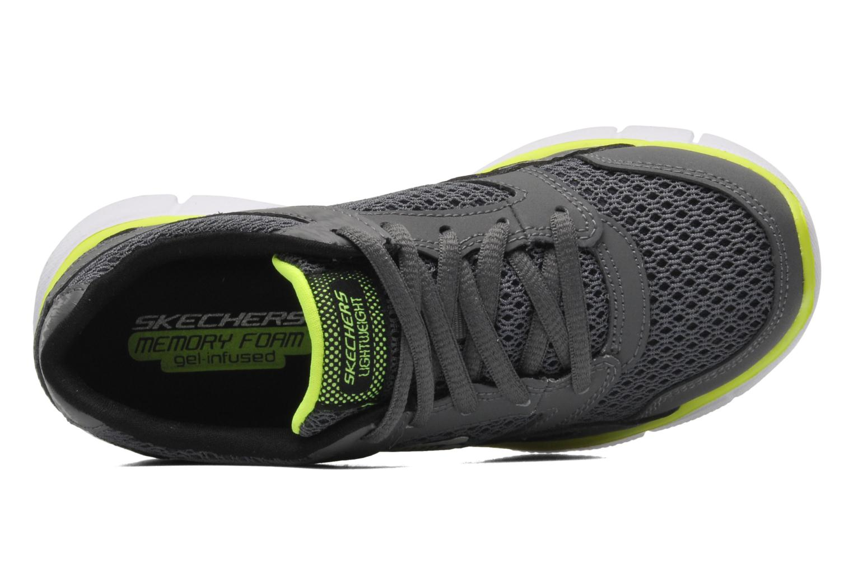 Sneaker Skechers Equalizer grau ansicht von links