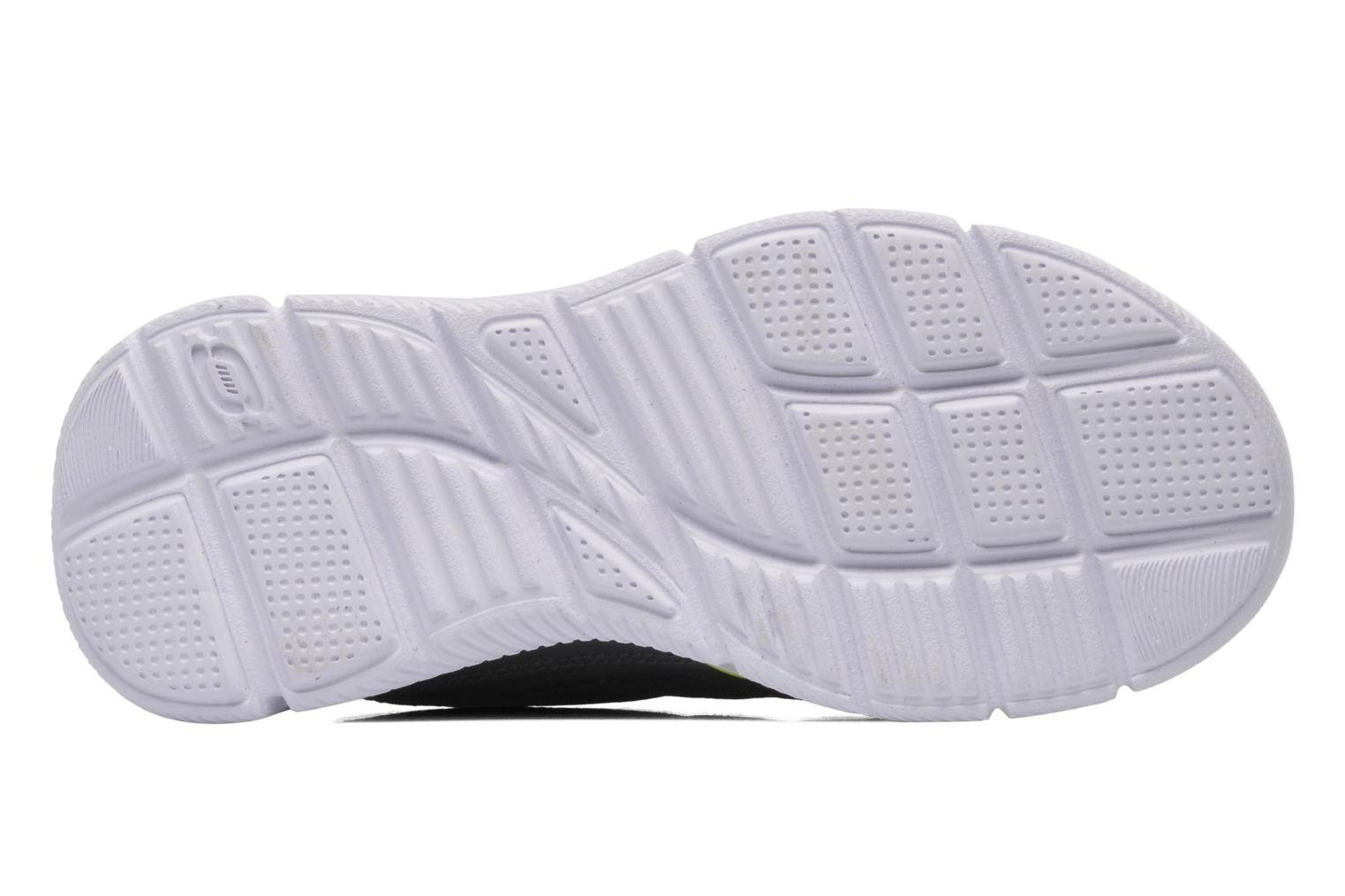 Baskets Skechers Equalizer Gris vue haut