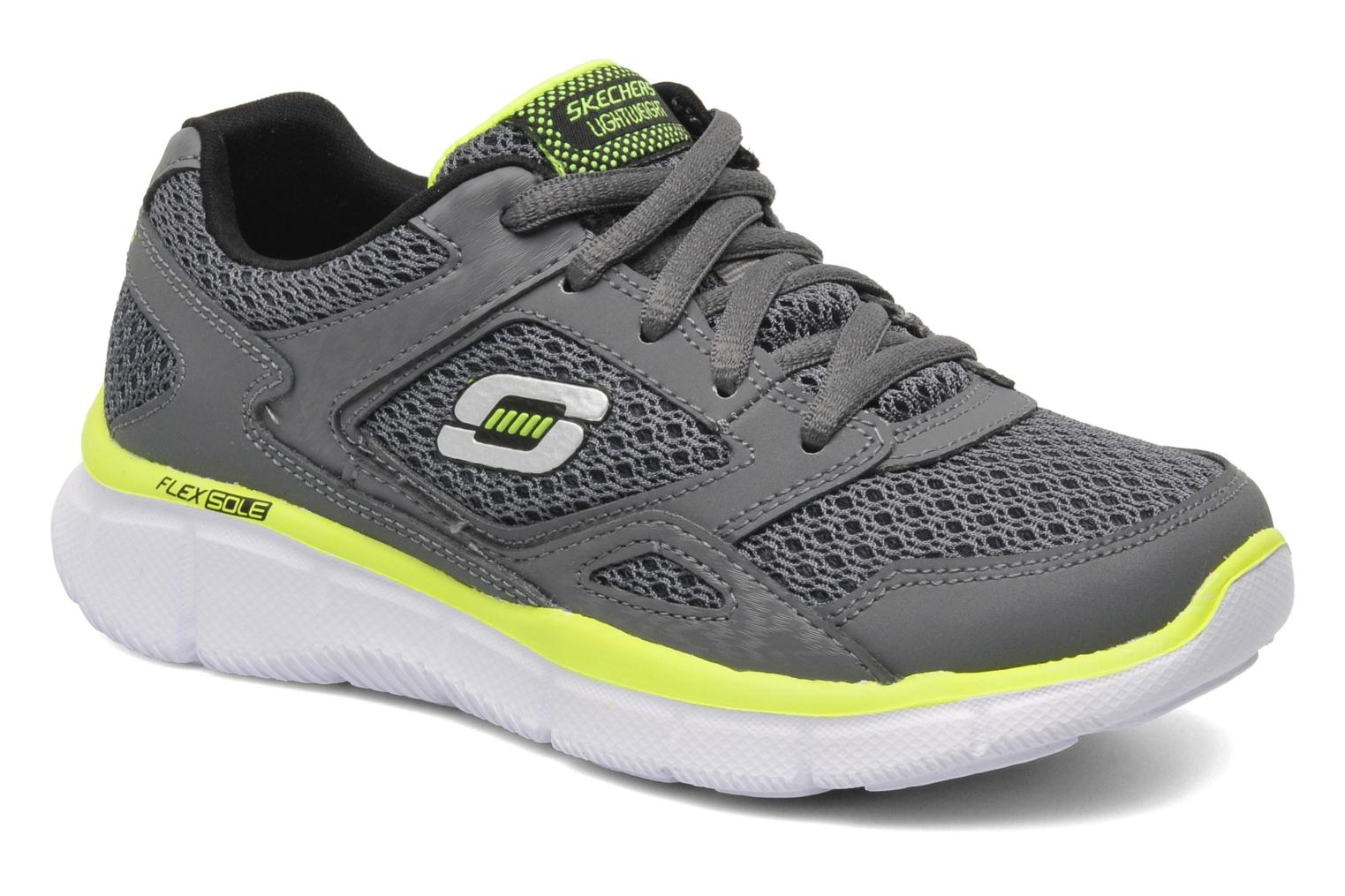 Trainers Skechers Equalizer Grey detailed view/ Pair view