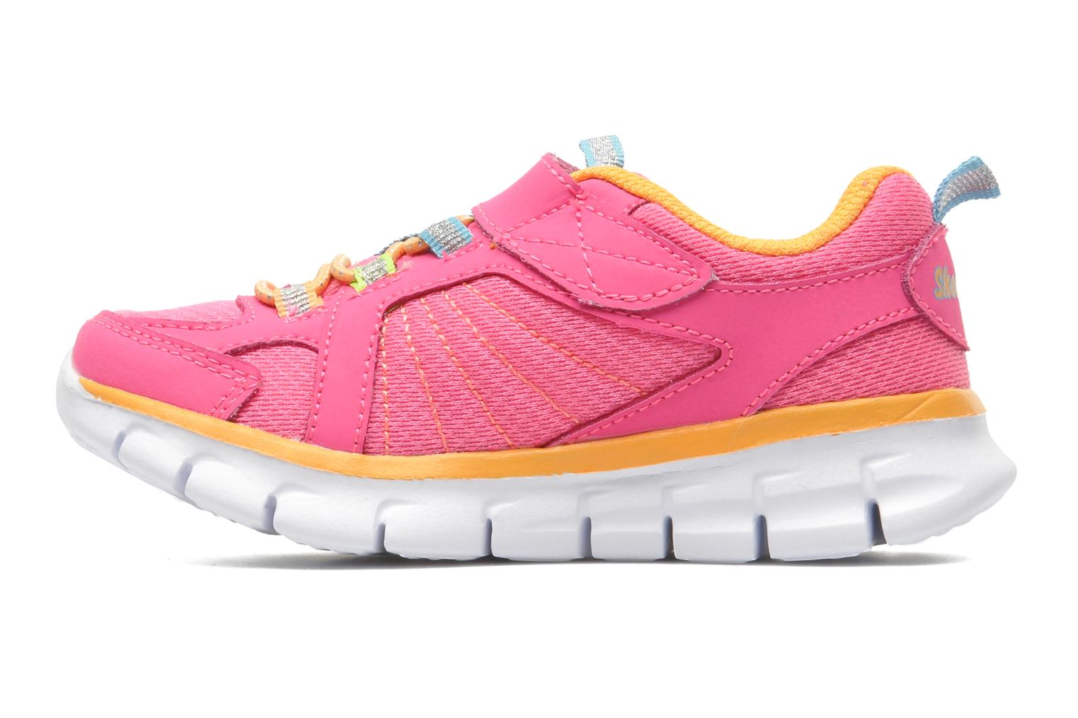 Trainers Skechers Synergy Lovespun Pink front view