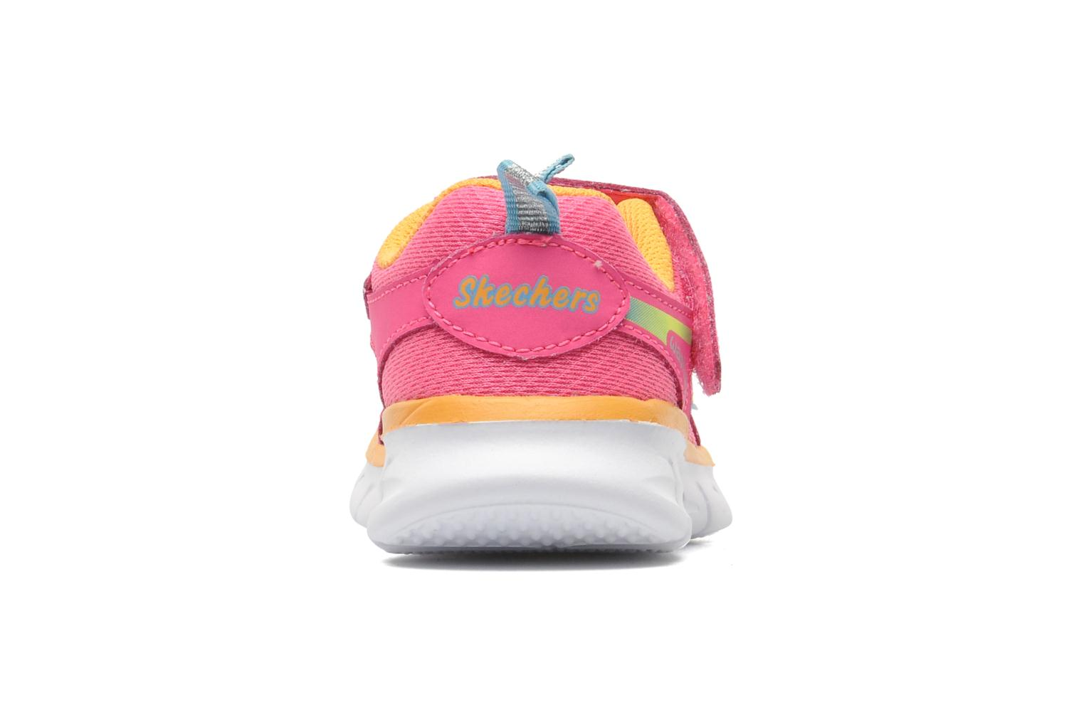 Trainers Skechers Synergy Lovespun Pink view from the right