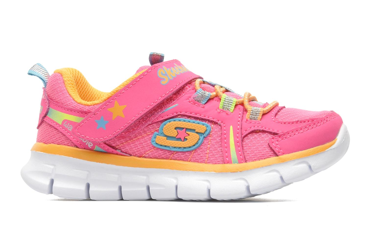 Trainers Skechers Synergy Lovespun Pink back view