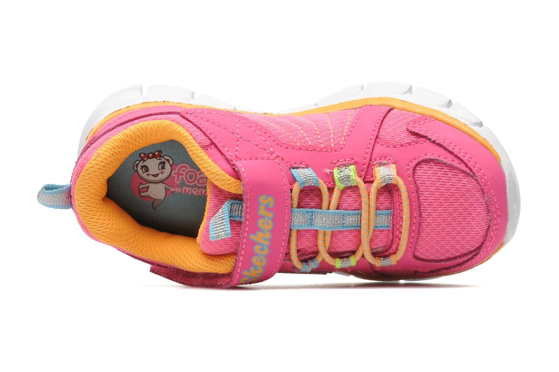 Deportivas Skechers Synergy Lovespun Rosa vista lateral izquierda