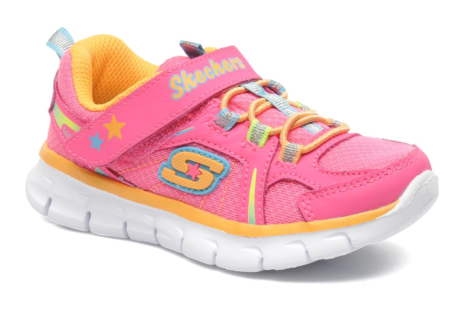 Trainers Skechers Synergy Lovespun Pink detailed view/ Pair view