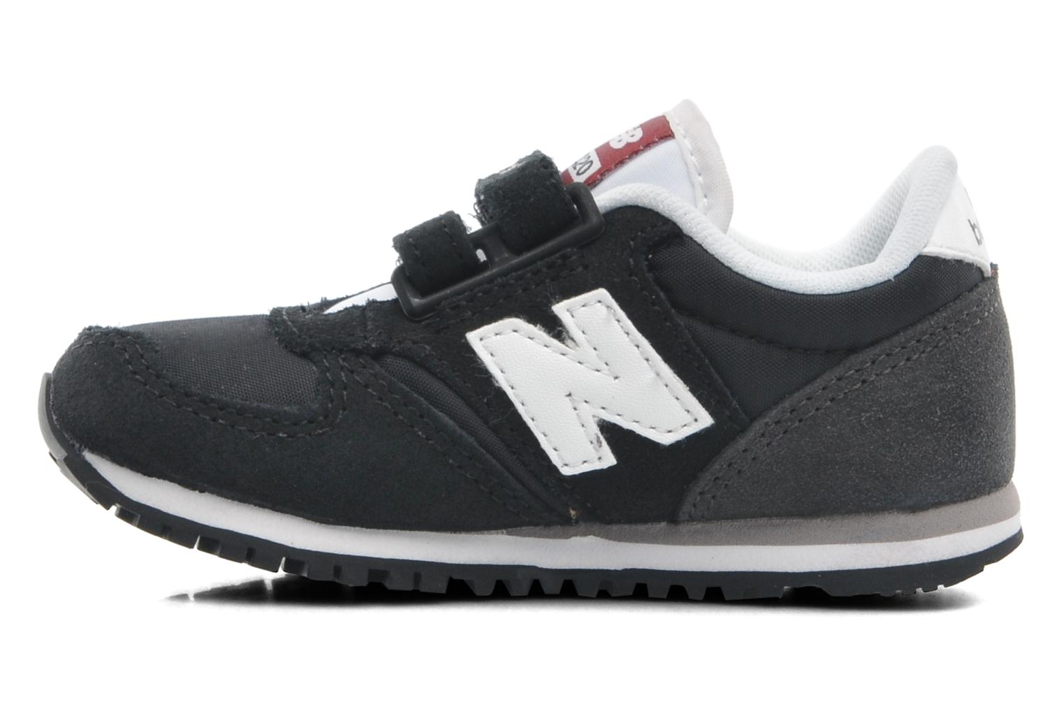 Baskets New Balance KE420 Kids Noir vue face