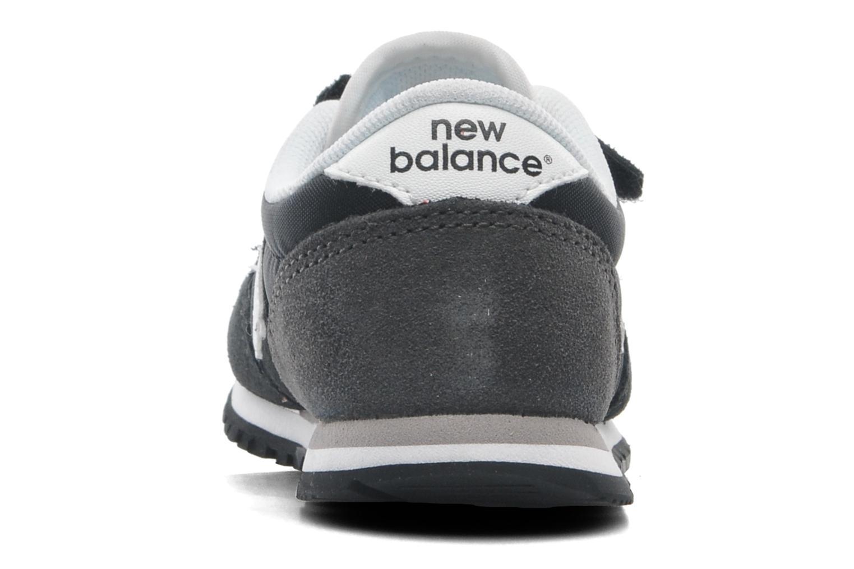 Sneaker New Balance KE420 Kids schwarz ansicht von rechts