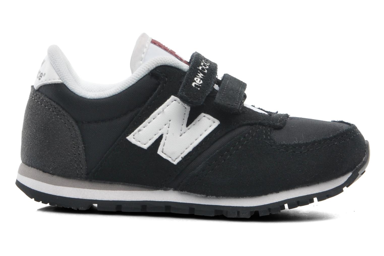 Sneaker New Balance KE420 Kids schwarz ansicht von hinten