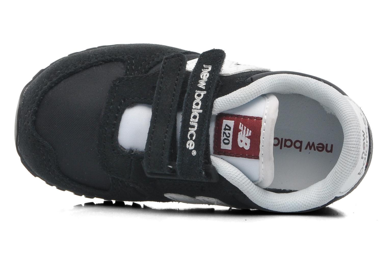 Sneaker New Balance KE420 Kids schwarz ansicht von links