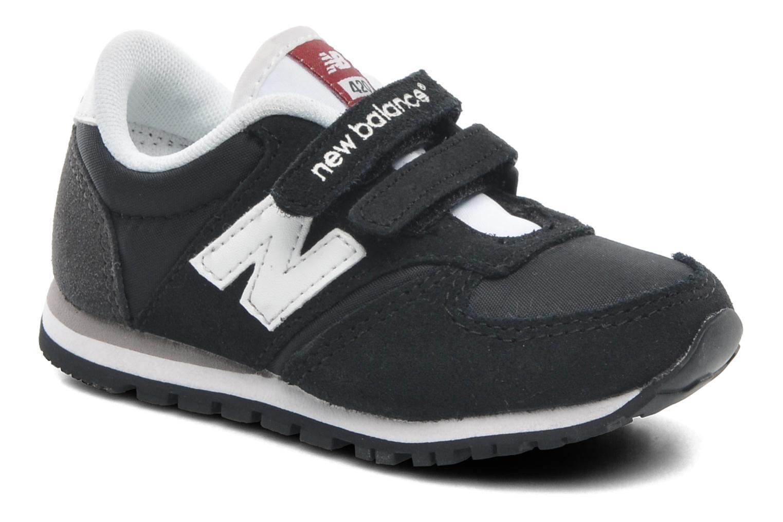 Sneaker New Balance KE420 Kids schwarz detaillierte ansicht/modell