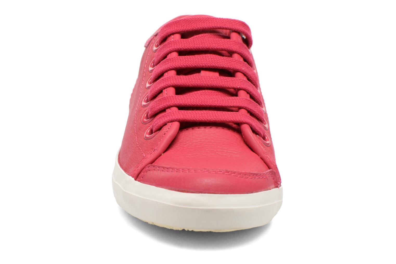 Baskets Camper Motel 22554 Rose vue portées chaussures