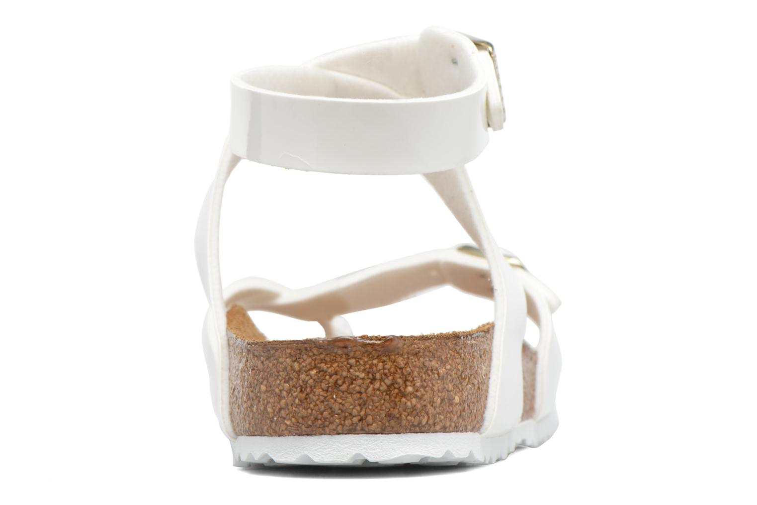 Sandals Birkenstock Yara Flor W White view from the right