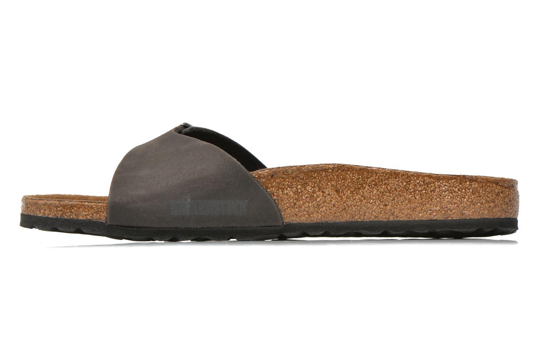 Sandales et nu-pieds Birkenstock Madrid Microfibre M Gris vue portées chaussures