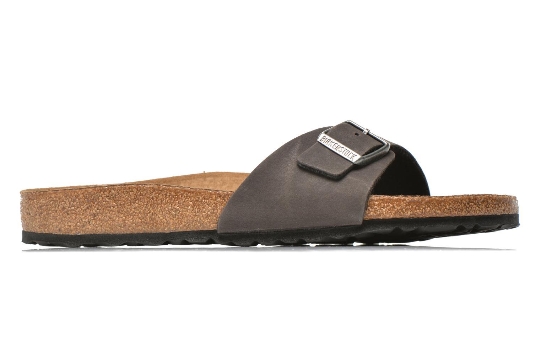Sandales et nu-pieds Birkenstock Madrid Microfibre M Gris vue droite