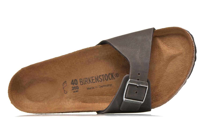 Sandales et nu-pieds Birkenstock Madrid Microfibre M Gris vue derrière