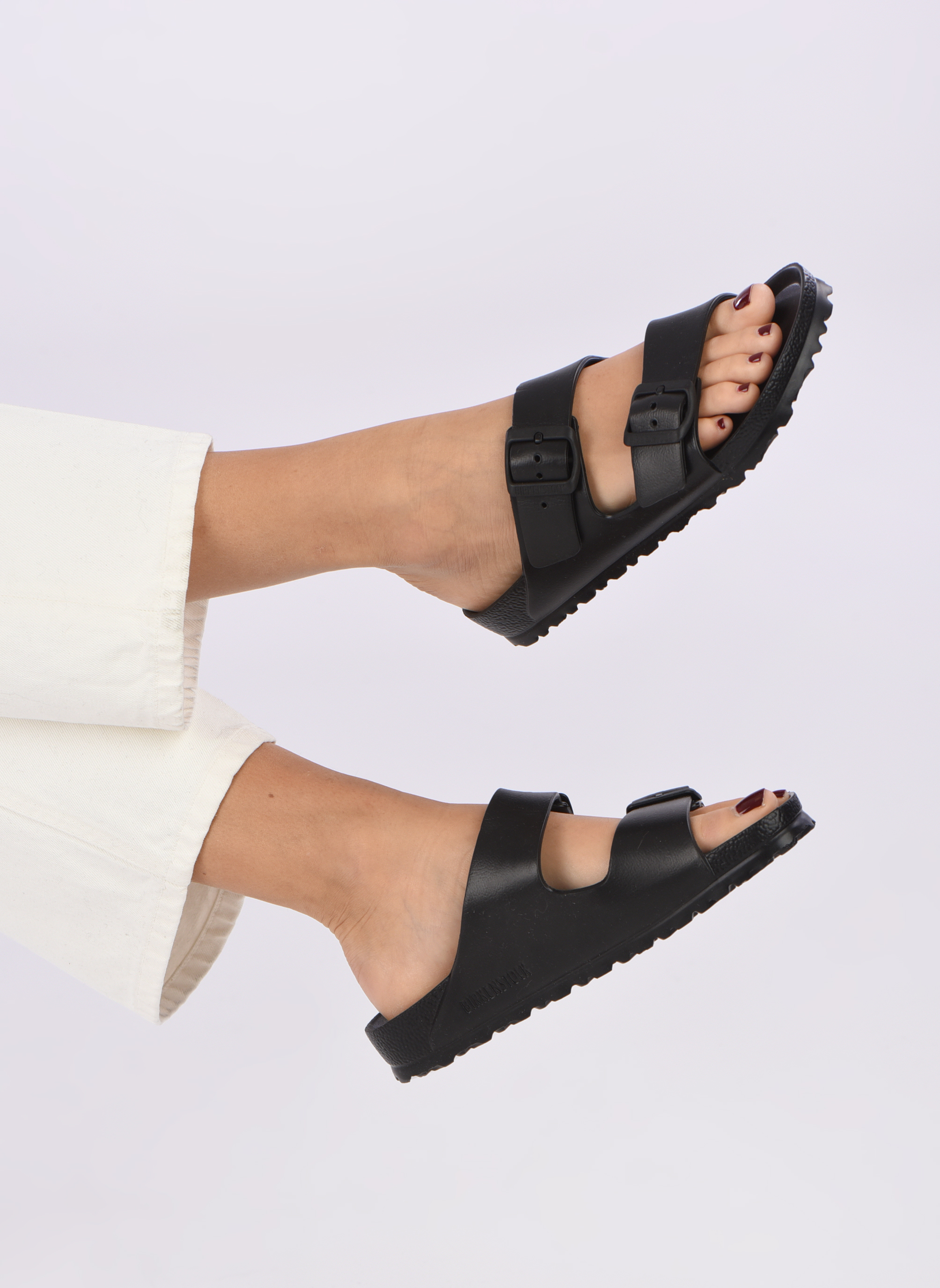 Mules & clogs Birkenstock Arizona EVA W Black view from underneath / model view