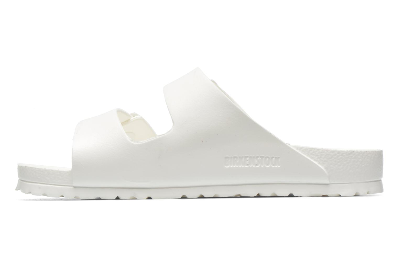 Sandales et nu-pieds Birkenstock Arizona EVA M Blanc vue face