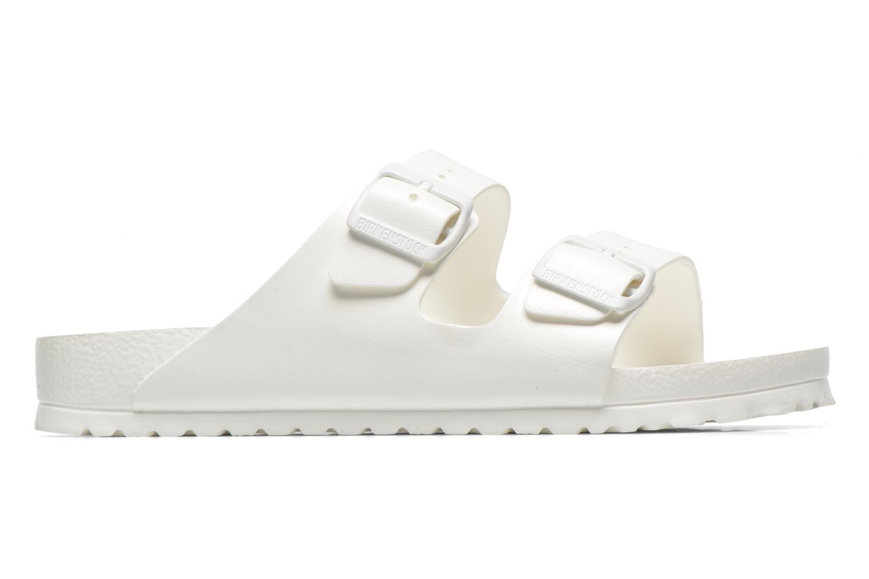 Sandales et nu-pieds Birkenstock Arizona EVA M Blanc vue derrière